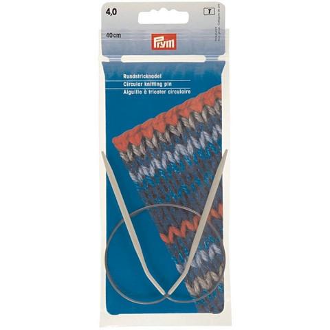 Prym: Pyöröpuikko 4,0mm 40cm, alumiini
