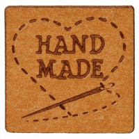 Prym: Hand made -merkki, 20mm, kierrätetty paperi