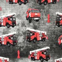 Digitrikoo: Paloautot, betoni