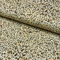 Bambutrikoo: Leopardi, harmaa - kulta