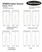 Sala Design: JEMMA lasten housut 92-146