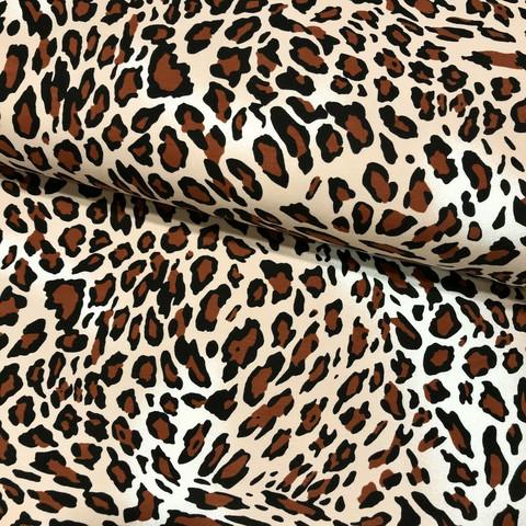 Digitrikoo: Leopard, ruskea - musta - beige