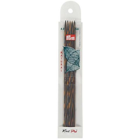 Prym: Sukkapuikko 4,0mm 20cm, puu
