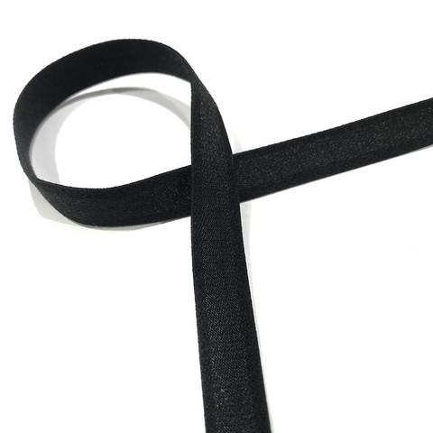 Olkainkuminauha 13mm, musta ja valkoinen