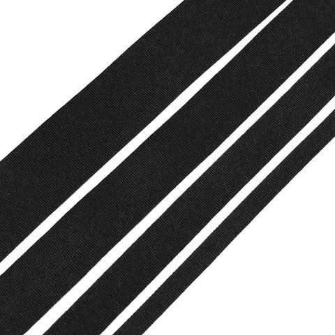 Ohut laukkuhihna 10-40mm, musta