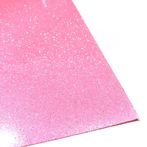 Silityskalvo: Glitteri, vaalea neonpinkki (Gem Flex)