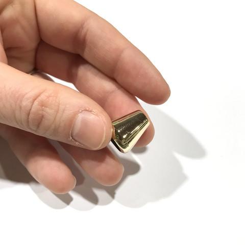Prym: Nyörinpää pyöreä, kulta