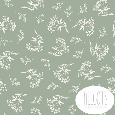 Allgots, luomutrikoo: Lee, dusty green