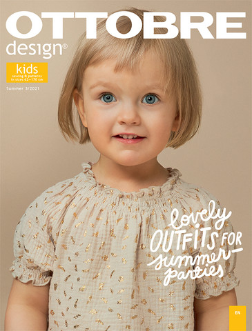 Ottobre design: Kids 62-170cm, kesä 3/2021