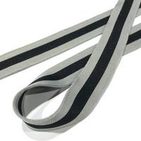 Raitanauha 25mm, musta-harmaa