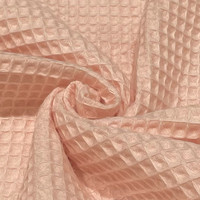 Vohvelikangas: Hento vaaleanpunainen