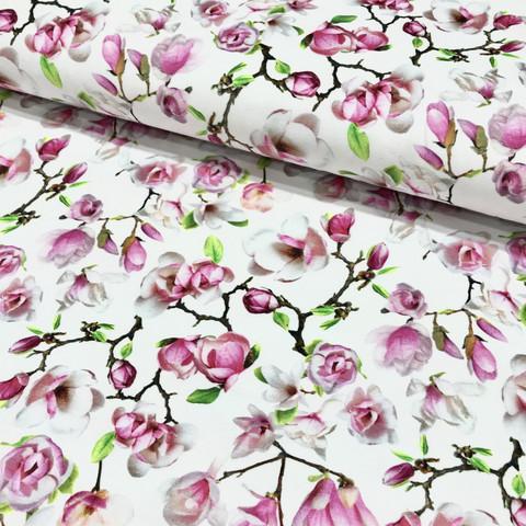 Digitrikoo: Cherry blossom, valkoinen