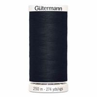 Gütermann ompelulanka 250m: Musta 000