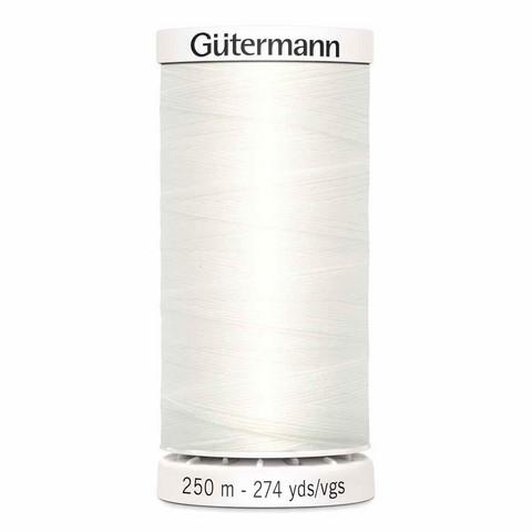 Gütermann ompelulanka 250m: Valkoinen 800