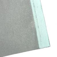 Alumiinipinnoitettu kangas / silityslautakangas, hopea