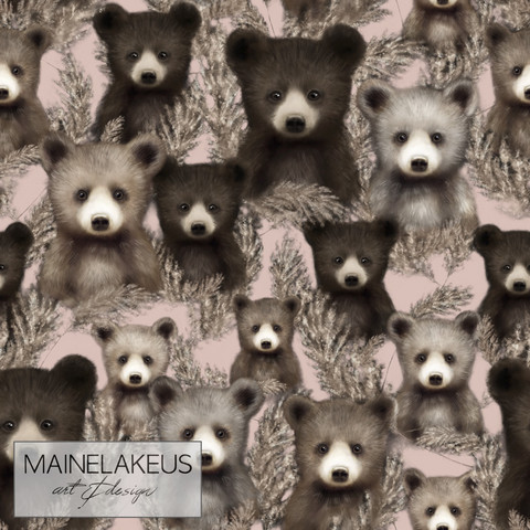 Mainelakeus: Pampakarhut blush, joustocollege
