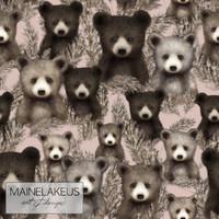 Mainelakeus: Pampakarhut blush, verkkari