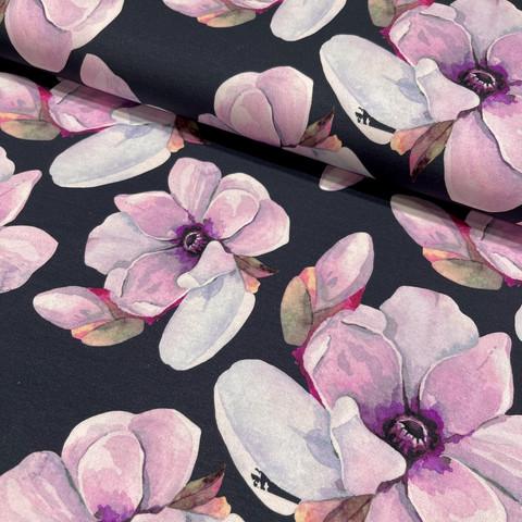 Digitrikoo: Kukat, lila - tummansininen