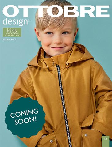 Ottobre design: Kids fashion 50-170cm, syksy 4/2021