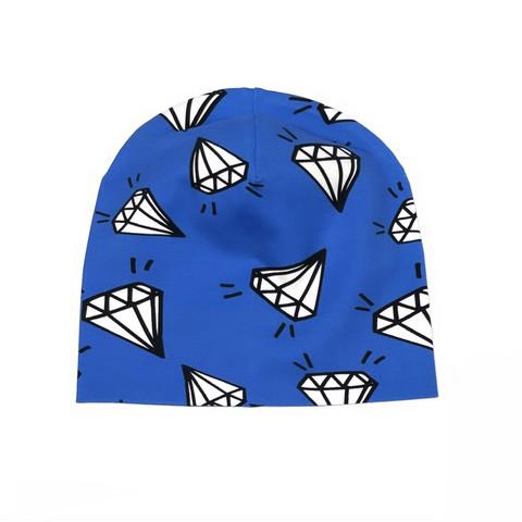 Trikoopipo: Diamond, sininen