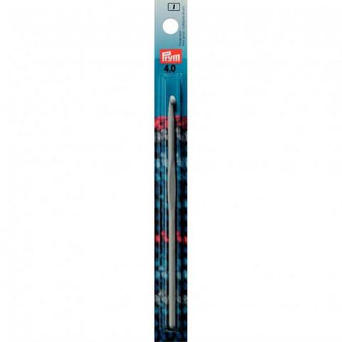 Prym: Virkkauskoukku 4,0mm, alumiini