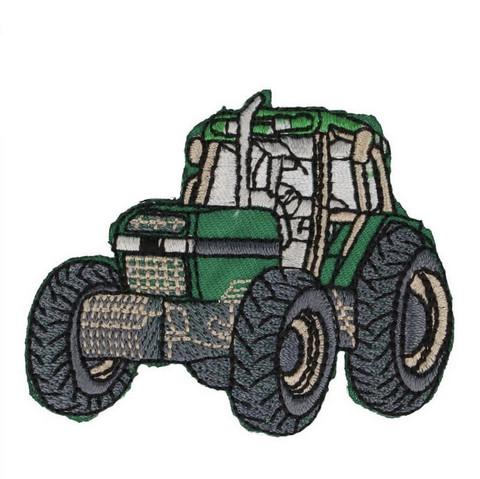 Silityskuva: Vihreä traktori