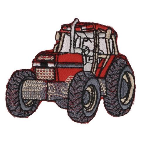 Silityskuva: Punainen traktori
