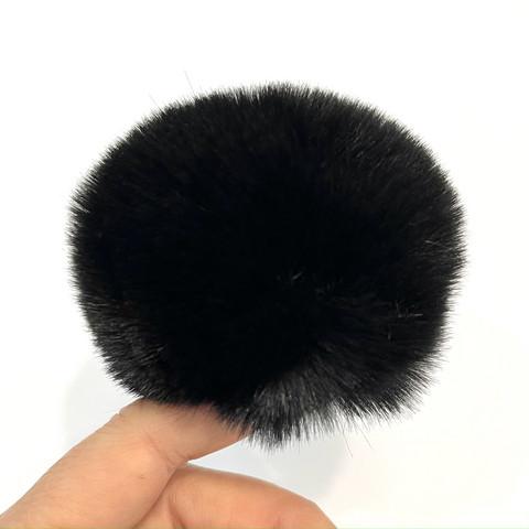Pehmotupsu 8cm, musta