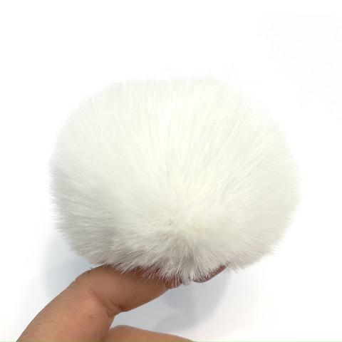 Pehmotupsu 8cm, valkoinen