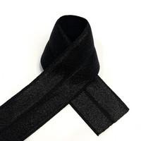 Joustokanttinauha Foe 25mm/1m, musta
