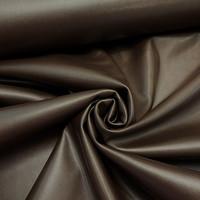 Stretch skin, joustava pehmoinen keinonahka, suklaanruskea