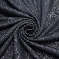 Viskoositrikoo glitteriefektillä, tummansininen
