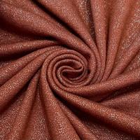 Viskoositrikoo glitteriefektillä, tiilenpunainen