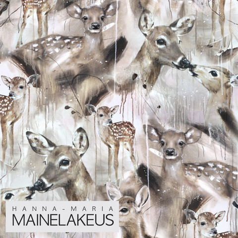Mainelakeus: Bambi (suurempi kuvio), trikoo