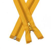Vetoketju spiraali 5mm avo, lämmin keltainen, 30-80cm