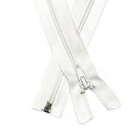 Vetoketju spiraali 5mm avo, valkoinen, 30-80cm