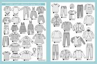 Ottobre design: Kids fashion 50-170cm, kevät 1/2019