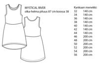 Jujuna, kaavapaketti: Mystique mekot 32-56
