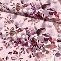 Digitrikoo: Autumn flowers, vaaleanpunainen