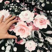 Digitrikoo: Rose garden, musta