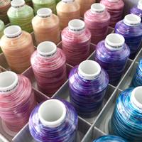 Gütermann: Bulky-Lock Multicolor kreppilanka 1000m, useita värejä