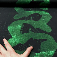 Hellin: Sisarukset Luomupuuvillatrikoo, Smaragdi