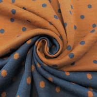 Merinovillaseos: Dots, Poltettu oranssi - Jeans