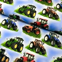 Digitrikoo: Isot traktorit, sininen