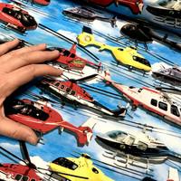 Digitrikoo: Helikopterit, taivaansininen