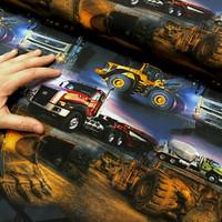 Digitrikoo: Volvot ja Catit, ruskea-sininen