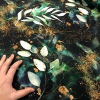 Digijoustocollege: Lehdet, tummanvihreä - kulta