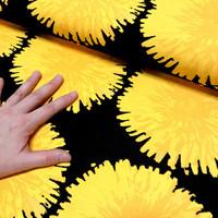 Kuosiverstas, luomutrikoo: Jättivoikukka, keltainen