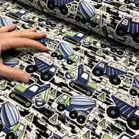 Digitrikoo: Työkoneet, sini - vihreä