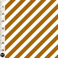 Mieli Design, luomutrikoo: VINORAITA golden caramel